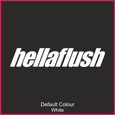 Hellaflush Decals x2, Car, Vinyl, Sticker, JDM VW VAG EURO, DRIFT, N2166