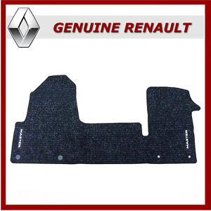 2010 on TAILORED FLOOR VAN MAT RUBBER HEAVY DUTY DURABLE Renault Master