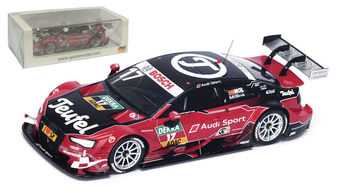 SPARK sg218 AUDI RS 5  17 DTM 2015-Miguel Molina SCALA
