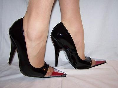 high heels  pumps-100/% samisch 13cm-grobe 37-47