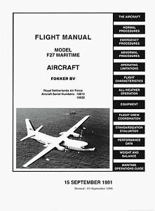FOKKER-F-27-MARITIME-FLIGHT-MANUAL-1981