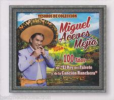 SEALED - Miguel Aceves Mejia CD Tesoros De Coleccion 100 Anos El Rey BRAND NEW
