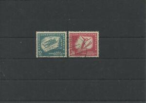 Germany-GDR-vintage-yearset-1951-Mi-280-281-Postmarked-Used-More-Sh-Shop-1