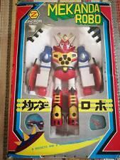 Rare Vintage 1970's Mekanda Robot Zincron Diecast Japan Import Marukai Trading