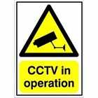 Sr11221 Warning Sign CCTV in Operation A5 PVC Gn00751r