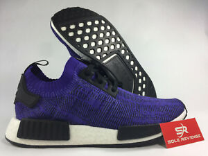outlet store a78cb 380ee Details about NEW adidas NMD_R1 PRIMEKNIT B37627 PK BOOST Energy Ink Purple  Blue j1