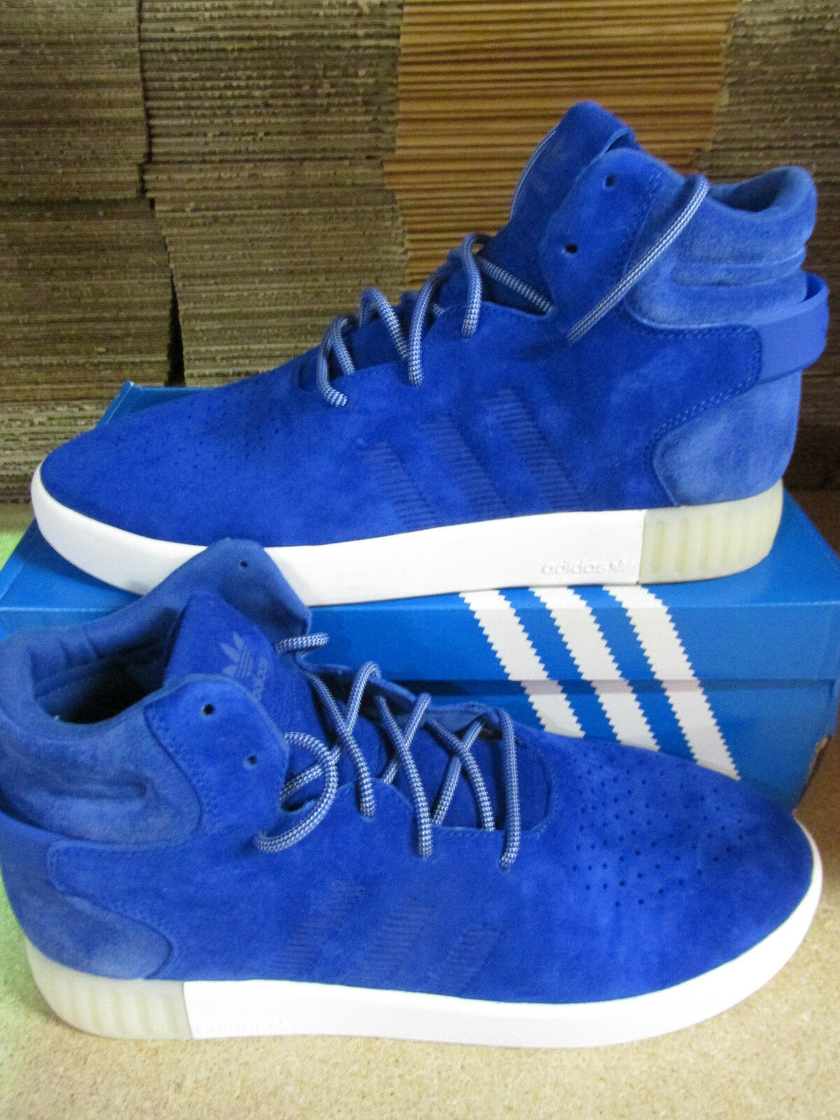 Adidas Originales Entrenadores Tubular invasor para Hombre Hi Top Entrenadores Originales BA9363 Tenis Zapatos 21a6b7