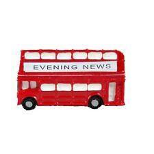 London Bus Routemaster Fridge Magnet Red Double Decker Souvenir Gift Traditional