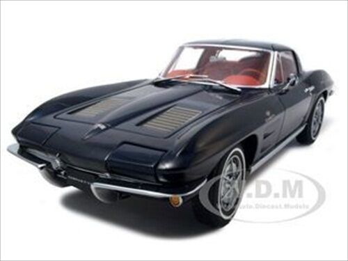 1963 CORVETTE STING RAY SPLIT WINDOW blu 1:18 DIECAST MODEL CAR  AUTOART 71181