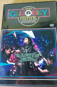BABYMETAL-GLASTONBURY-2019-DVD-BLACK-Debut-NEW-MEMBER-Riho-Metal
