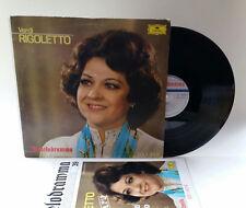 Verdi Rigoletto DECCA il melodramma RICORDI VINILE LP 33 VINYL