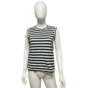 Comme De Garcons Striped Tank Top Women's Size S