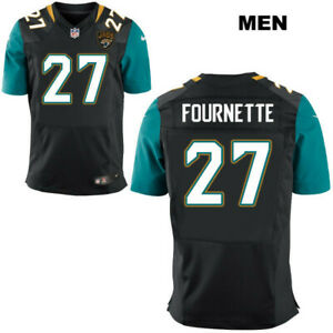 premium selection 37fc5 f3ab8 Details about Leonard Fournette #27 Jacksonville Jaguars Men's Black Home  Game Jersey