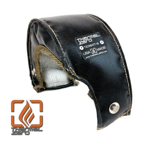 T25 T28 Internal Wastegate Turbo Blanket Turbocharger Heat Shield Cover BLACK