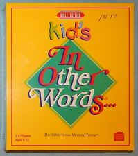 Kid's, In Other Words... Bible Verse Memory Game by Rainfall - New