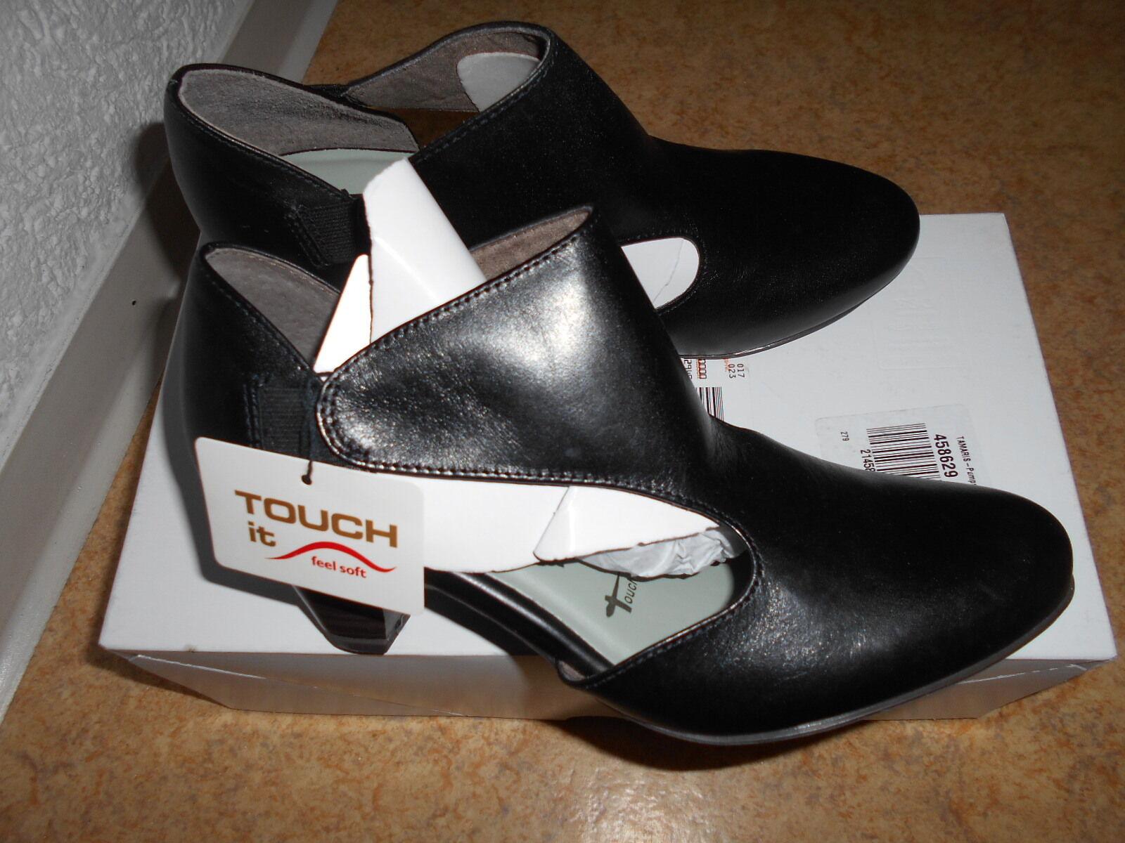 Nouveau  TOP femmes-Escarpins Taille 37  Nouveau  Tamaris  Noir