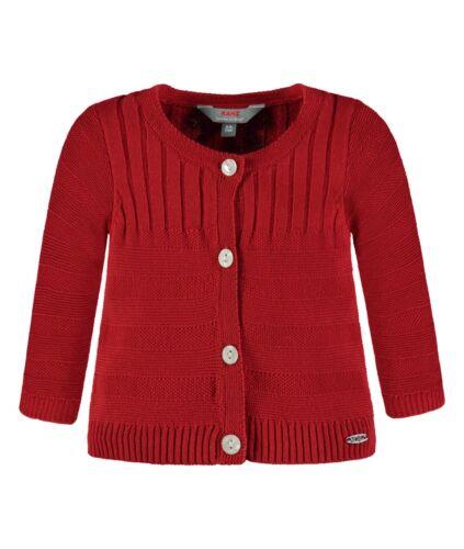 1832007 chicas kanz bebé chaleco chaqueta punto chaleco chaqueta de punto rojo nuevo 68-92
