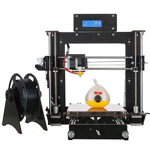 Duty-free-CTC-Prusa-I3-Pro-DIY-imprimante-3D-LCD-MK8-printer-ABS-PLA-WOOD