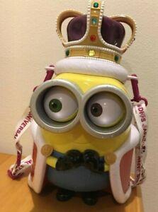 Usado-Popcorn-Cubo-Minion-King-Bob-Universal-Studios-Oficial-Usj-Limitado-Japon
