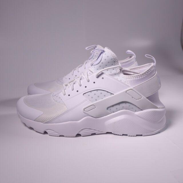 Size 13 - Nike Air Huarache Run Ultra Triple White 2017