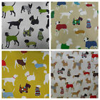 Prestigious Textiles Mans Best Friend Dogs Cotton Curtain Fabric | 4 Colourways