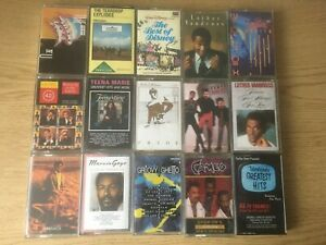 Bundle-of-36-Assorted-Audio-Cassettes-Soul-Pop-Comedy-OSTs-Good-Condition