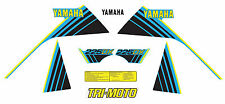 YAMAHA 1984 YTM225DX YTM225 BLUE MODEL DECAL GRAPHIC KIT LIKE NOS