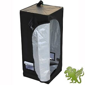 "NEW 2.6"" x 2.6"" x 5.2"" MYlar Hydroponics Indoor Grow Room Tent Box by iHidro"