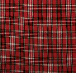 Image Is Loading Ballard Designs Holiday Christmas Plaid Red Tartan Multiuse