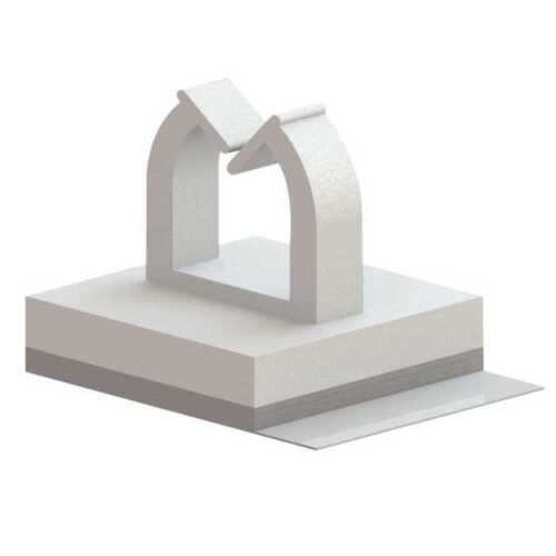 100 count Wire Saddle Adhesive Mount Mini 50 in Square Base