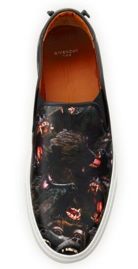 GIVENCHY SLIP ON MONKEY BROTHERS EU 41.5 AUTHENTIC 100% AUTHENTIC 41.5 ae159c