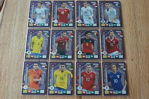 Panini-Road-to-Russia-2018-Adrenalyn-Trading-Cards-Key-Player-aussuchen-pick