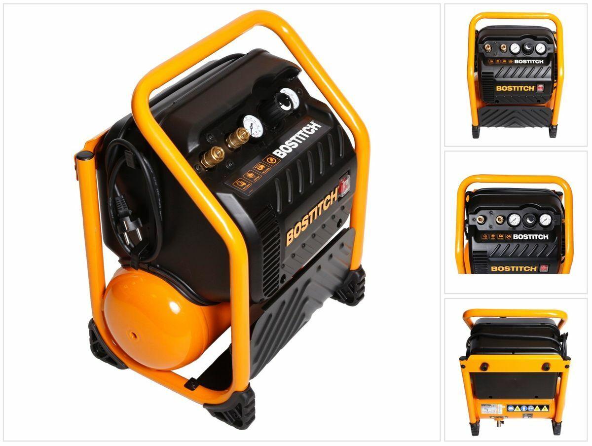 Bostitch RC10SQ-E Baustellen Kompressor 9,4 Liter   1,5 PS   13,78 Bar   230 V