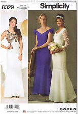 Wedding Prom Dress Gown Flounce Off Shoulder Overlay Sewing Pattern 4 6 8 10 12