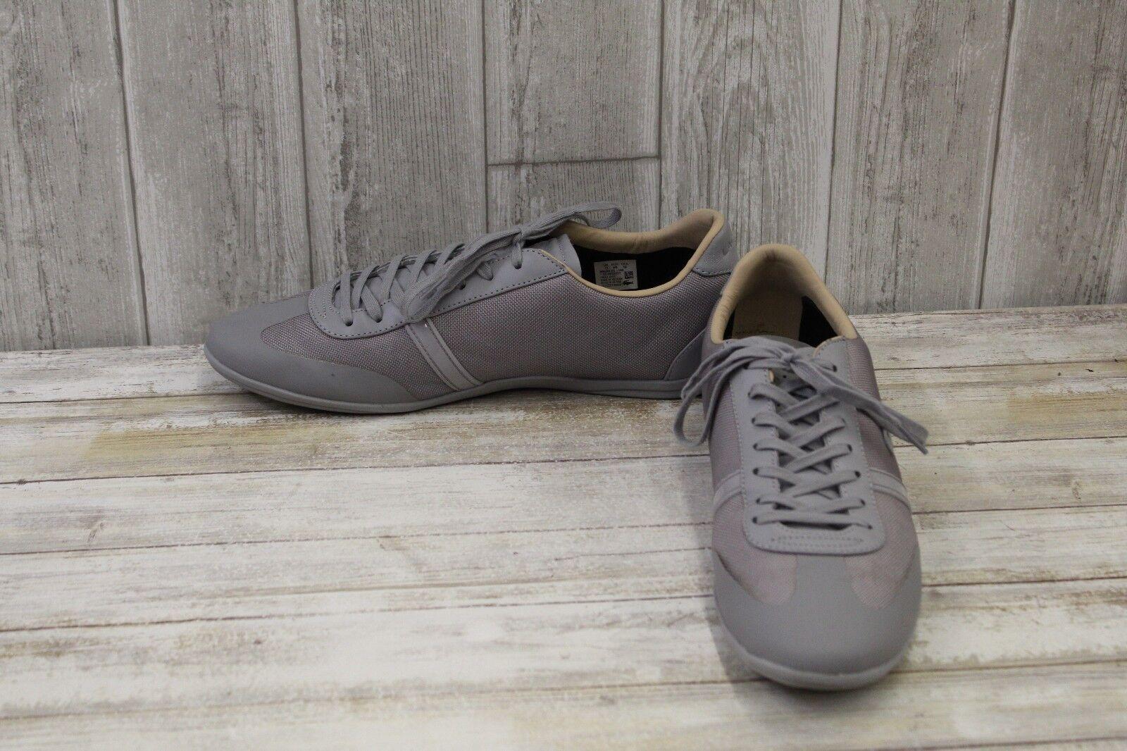 Lacoste Mokara 217 1 Fashion Sneakers-Men's sz 12 Grey