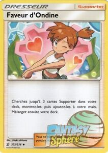 Pokemon-lot of 2 x favour ondine-unusual 202//236 vf french