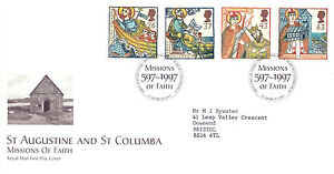 11 MARCH 1997 MISSIONS OF FAITH ROYAL MAIL FIRST DAY COVER BUREAU SHS - Weston Super Mare, Somerset, United Kingdom - If the item you received has in any way been wrongly described or we have made a mistake regardless of the nature we will pay your return postage costs. If however the error is yours you pay for the return pos - Weston Super Mare, Somerset, United Kingdom