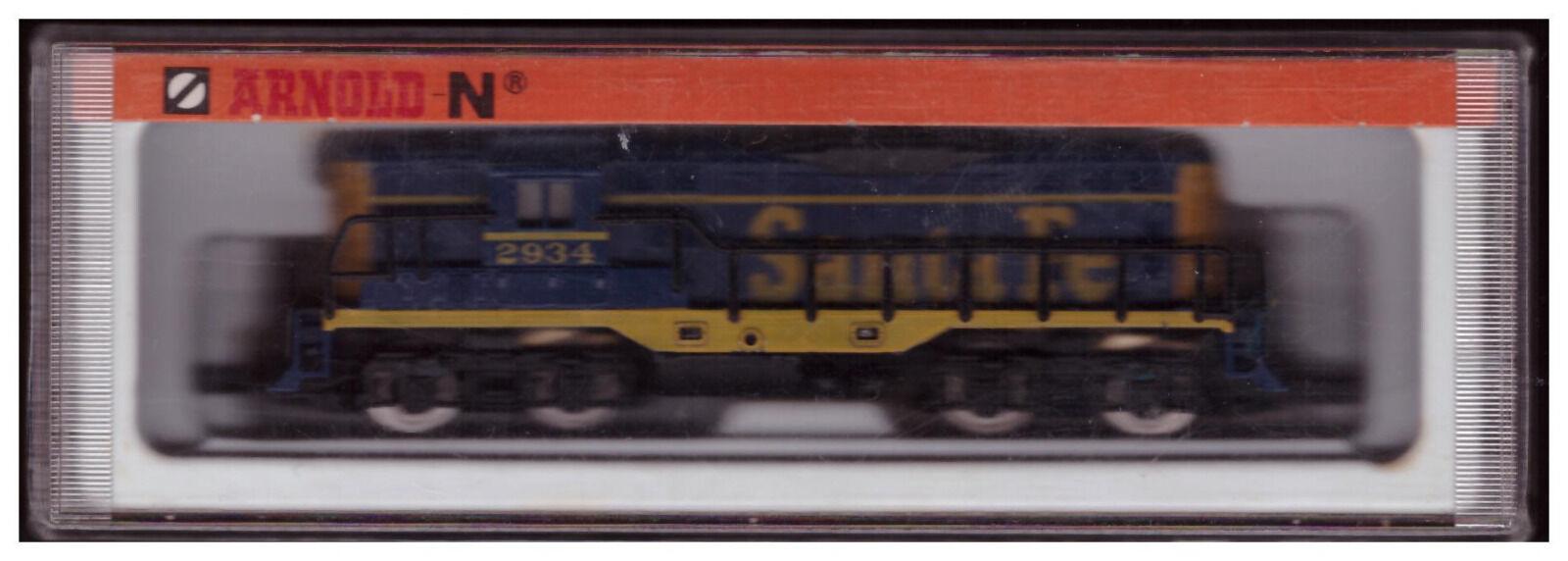 Arnold 5045  diesellok santa fe pista N-Embalaje original -