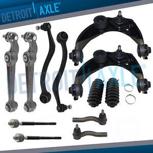 Nakamoto Brake Pad /& Rotor Kit Metallic Front /& Rear for Fusion Milan Hybrid MKZ