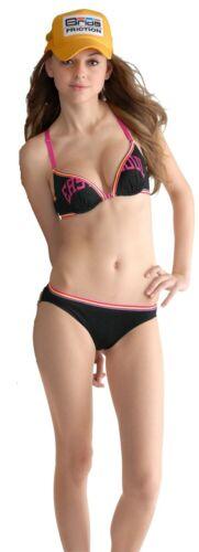 bra set Sporty Grey /& Orange or Black /& Pink Colour Cotton Underwear Set