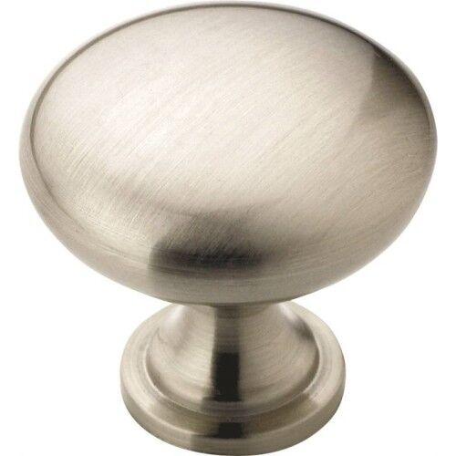 32mm DIA Knob 10 Pack Satin Nickel Amerock BP53005G10 Allison Value 1-1//4in