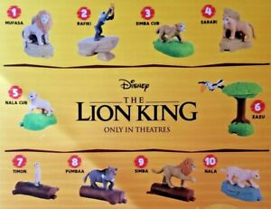 The-Lion-King-2019-McDonalds-Happy-Meal-ALL-Toys-1-10-amp-SETS-2-99-Ships-ALL