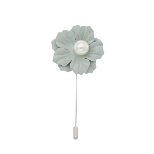 Fleur épinglette boutonnière Bâton Broche Pin Mariage Homme accessoires fait main