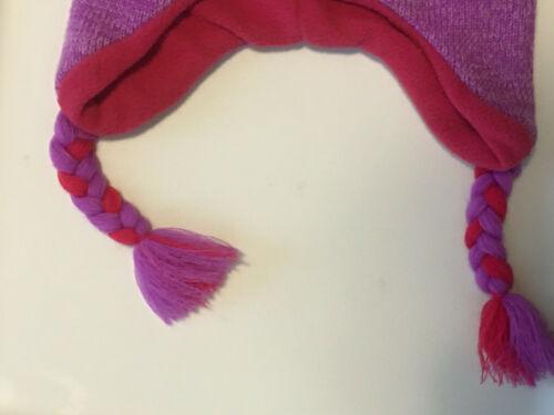 Details about  /Girls One Size Fun Critter Knit Hat Panda Bear-Penguin-Pretty Bird Acrylic Lined