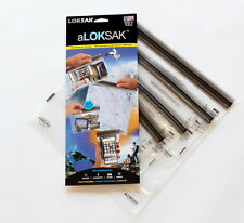 4 Aloksak 4.5x7 6x6 9x6 12x12 New Double Zipper WaterproofAirtight Bags LOKSAK