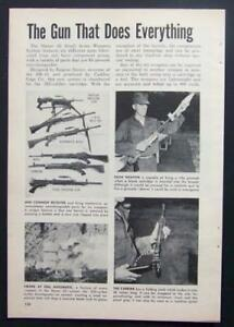 Stoner 63 modular weapon system new weapons for vietnam 1965 image is loading stoner 63 modular weapon system new weapons for thecheapjerseys Choice Image