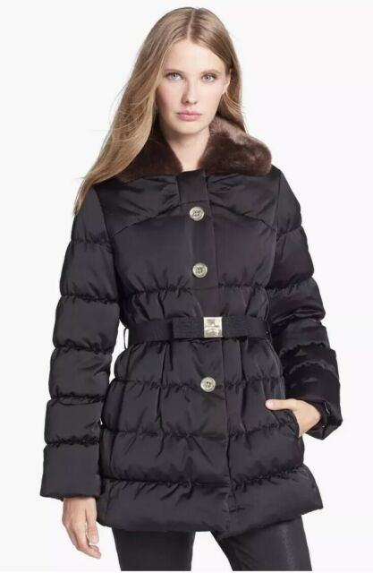 40907c563 NWT Kate Spade Black Becky Puffer Down Coat Size:XS