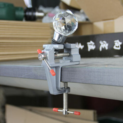 "Mini Table Bench Vise 3.5/"" Work Bench Clamp Swivel Vice Craft Repair Tool"