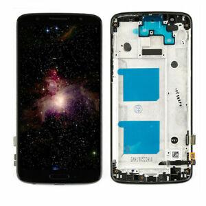 For Motorola Moto G6 XT1925-2 XT1925-6 LCD Touch Screen Digitizer Frame