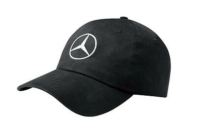 original Mercedes Benz Base Cap Mütze Logo Weiß Basic schwarz 100% Baumwolle neu
